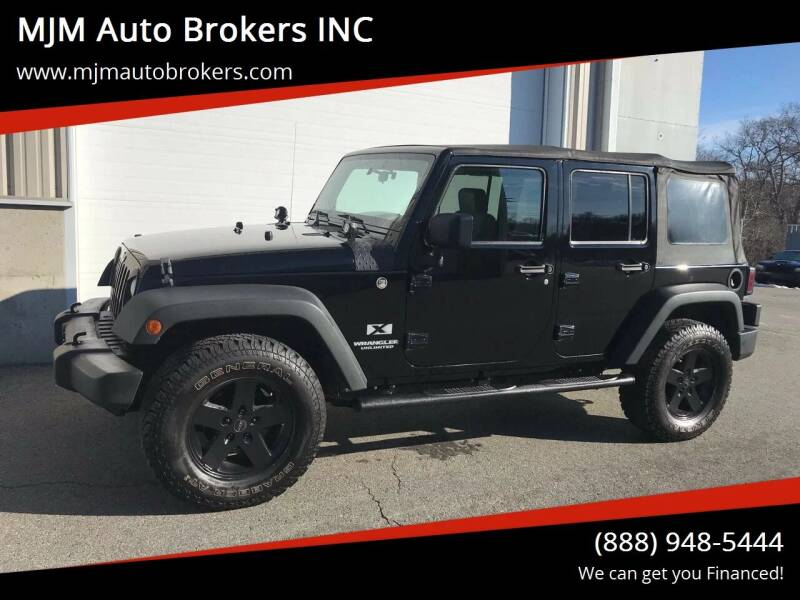 2009 Jeep Wrangler Unlimited for sale at MJM Auto Brokers INC in Gloucester MA