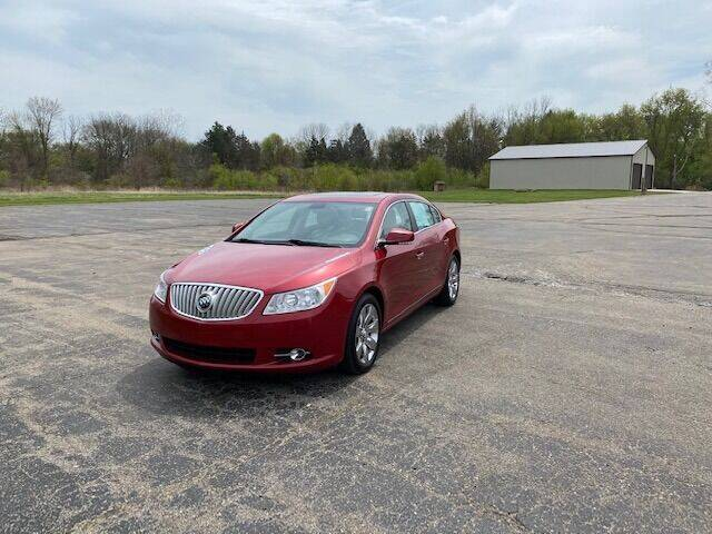 2012 Buick LaCrosse for sale at Caruzin Motors in Flint MI
