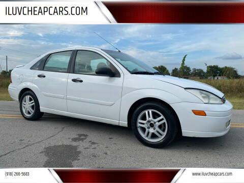 2001 Ford Focus for sale at ILUVCHEAPCARS.COM in Tulsa OK