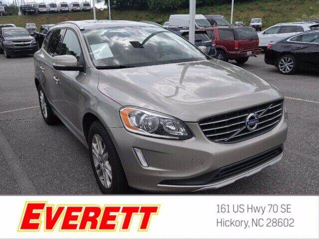 2016 Volvo XC60 for sale at Everett Chevrolet Buick GMC in Hickory NC