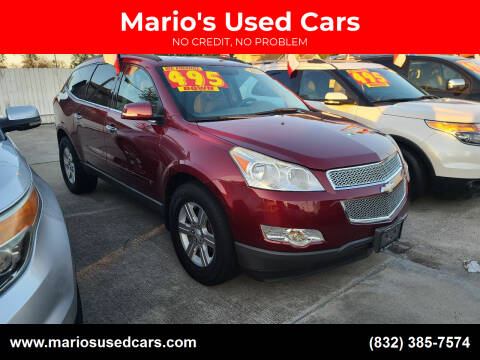2010 Chevrolet Traverse for sale at Mario's Used Cars - South Houston Location in South Houston TX