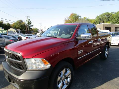 2013 RAM Ram Pickup 1500 for sale at Route 12 Auto Sales in Leominster MA