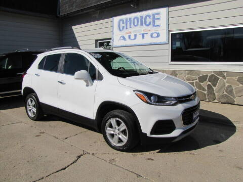 2017 Chevrolet Trax for sale at Choice Auto in Carroll IA