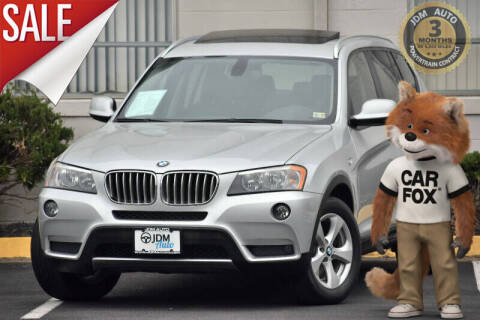 2011 BMW X3 for sale at JDM Auto in Fredericksburg VA