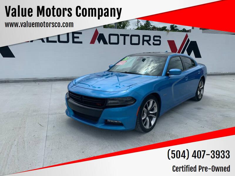 2015 Dodge Charger for sale at Value Motors Company in Marrero LA