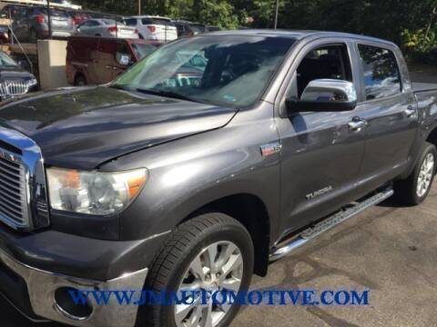 2012 Toyota Tundra for sale at J & M Automotive in Naugatuck CT