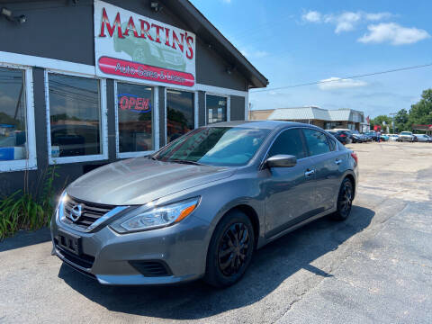 2016 Nissan Altima for sale at Martins Auto Sales in Shelbyville KY