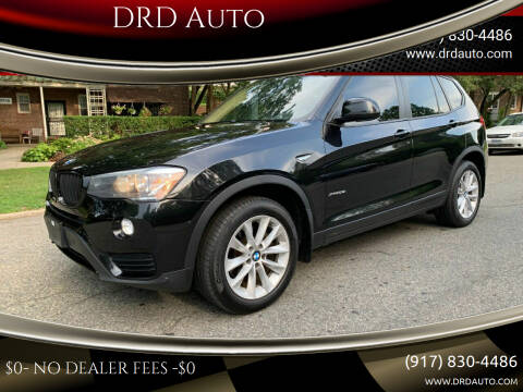2016 BMW X3 for sale at DRD Auto Market in Flushing NY