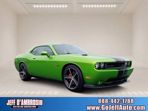2011 Dodge Challenger for sale at Jeff D'Ambrosio Auto Group in Downingtown PA