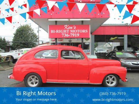 1948 Ford 2 DOOR  SEDAN for sale at Bi Right Motors in Centralia WA