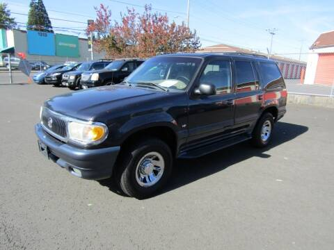 1999 Mercury Mountaineer for sale at ARISTA CAR COMPANY LLC in Portland OR
