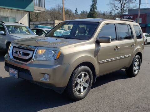 2011 Honda Pilot for sale at Halo Motors in Bellevue WA
