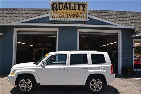 2008 Jeep Patriot for sale at Quality Pre-Owned Automotive in Cuba MO