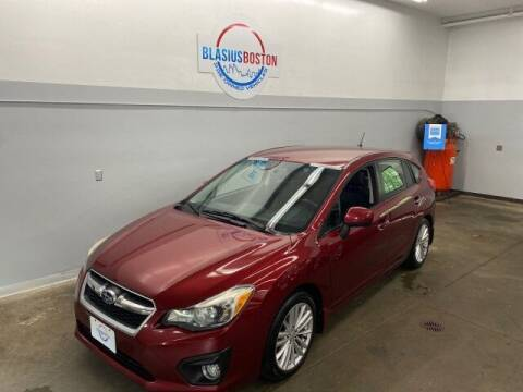 2012 Subaru Impreza for sale at WCG Enterprises in Holliston MA