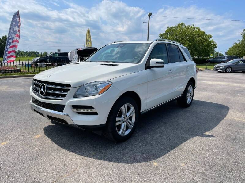 2013 Mercedes-Benz M-Class for sale at Bagwell Motors in Lowell AR