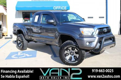 2013 Toyota Tacoma for sale at Van 2 Auto Sales Inc in Siler City NC