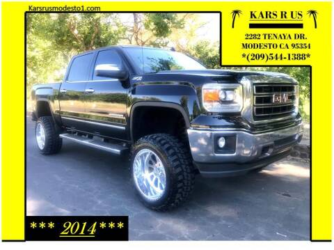 2014 GMC Sierra 1500 for sale at KARS R US in Modesto CA