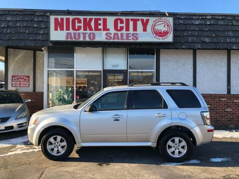 2011 Mercury Mariner for sale at NICKEL CITY AUTO SALES in Lockport NY