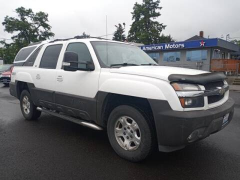 2005 Chevrolet Avalanche for sale at All American Motors in Tacoma WA