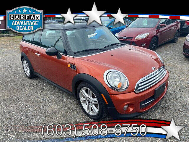 2013 MINI Clubman for sale at J & E AUTOMALL in Pelham NH