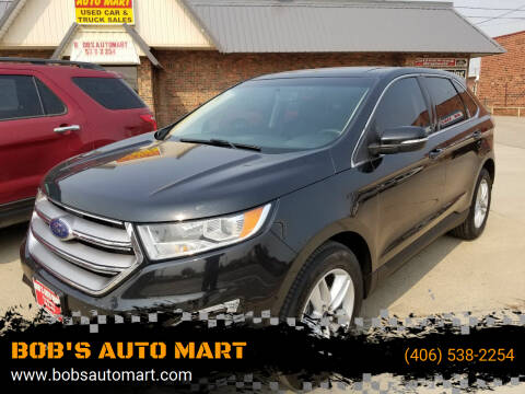 2015 Ford Edge for sale at BOB'S AUTO MART in Lewistown MT