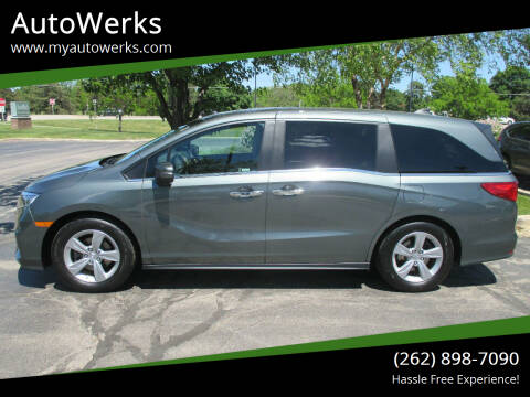 2018 Honda Odyssey for sale at AutoWerks in Sturtevant WI