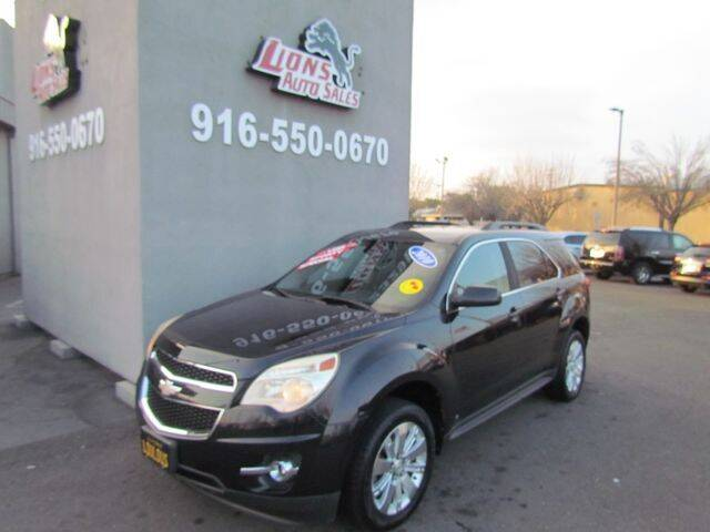2010 Chevrolet Equinox for sale at LIONS AUTO SALES in Sacramento CA