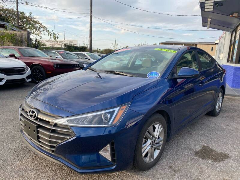 2020 Hyundai Elantra for sale at Cow Boys Auto Sales LLC in Garland TX
