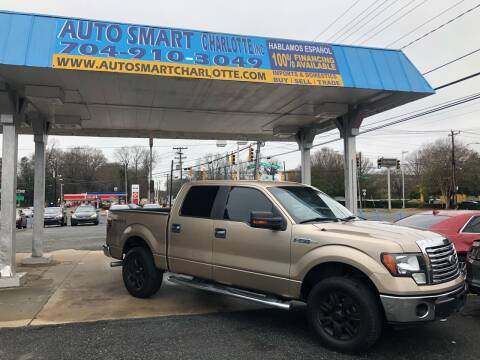 2011 Ford F-150 for sale at Auto Smart Charlotte in Charlotte NC
