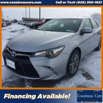 2015 Toyota Camry for sale at CousineauCars.com in Appleton WI