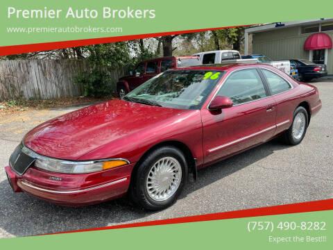 1996 Lincoln Mark VIII for sale at Premier Auto Brokers in Virginia Beach VA