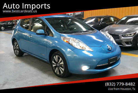 2013 Nissan LEAF for sale at Auto Imports in Houston TX