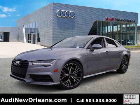 2018 Audi A7 for sale at Metairie Preowned Superstore in Metairie LA