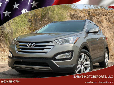 2016 Hyundai Santa Fe Sport for sale at Baba's Motorsports, LLC in Phoenix AZ