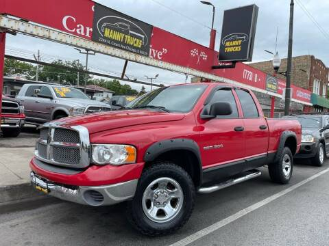 2002 Dodge Ram Pickup 1500 for sale at Manny Trucks in Chicago IL