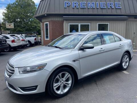 2015 Ford Taurus for sale at Premiere Auto Sales in Washington PA
