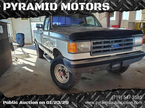 1991 Ford F-250 for sale at PYRAMID MOTORS - Pueblo Lot in Pueblo CO