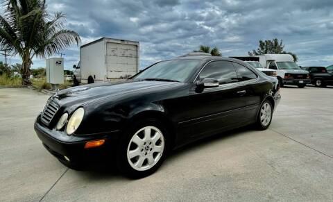 2002 Mercedes-Benz CLK for sale at AUTOSPORT MOTORS in Lake Park FL