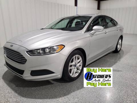 2015 Ford Fusion for sale at Hatcher's Auto Sales, LLC - Buy Here Pay Here in Campbellsville KY