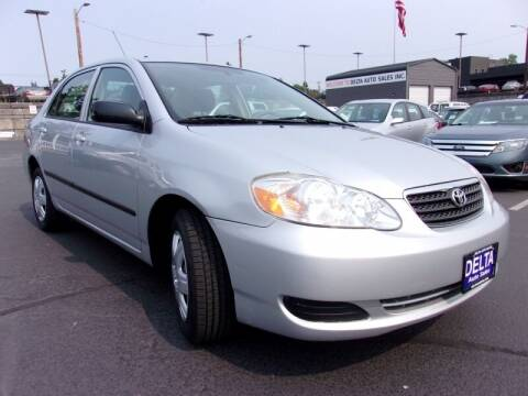 2008 Toyota Corolla for sale at Delta Auto Sales in Milwaukie OR