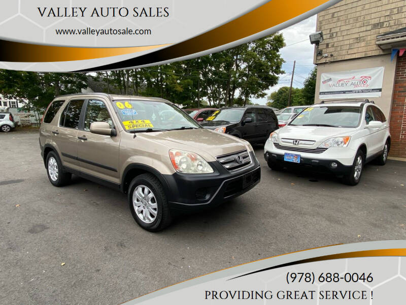 2006 Honda CR-V for sale at VALLEY AUTO SALES in Methuen MA