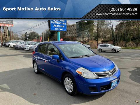 2011 Nissan Versa for sale at Sport Motive Auto Sales in Seattle WA