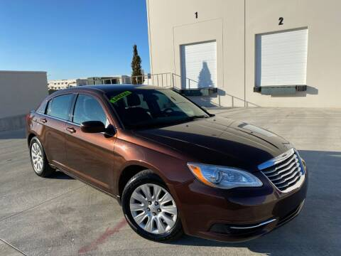 2013 Chrysler 200 for sale at Evolution Auto Sales LLC in Springville UT
