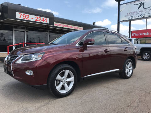 2015 Lexus RX 350 for sale at NORRIS AUTO SALES in Oklahoma City OK