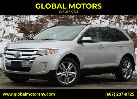 2014 Ford Edge for sale at GLOBAL MOTORS in Binghamton NY