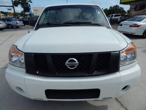 2015 Nissan Titan for sale at Auto Outlet of Sarasota in Sarasota FL