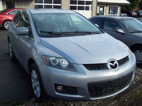 2007 Mazda CX-7 for sale at M & M Auto Sales LLc in Olympia WA