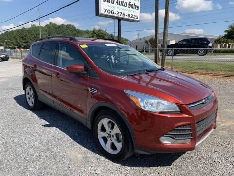 2016 Ford Escape for sale at J & D Auto Sales in Dalton GA