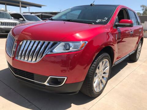 2012 Lincoln MKX for sale at Town and Country Motors in Mesa AZ