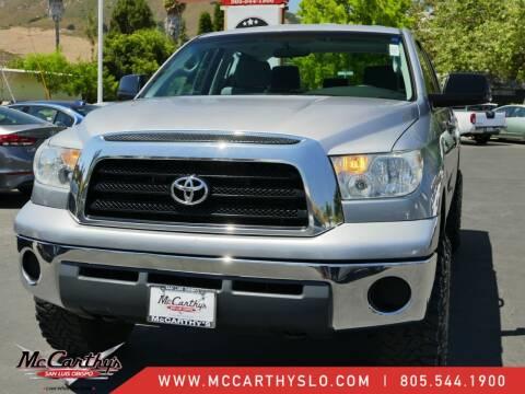 2007 Toyota Tundra for sale at McCarthy Wholesale in San Luis Obispo CA